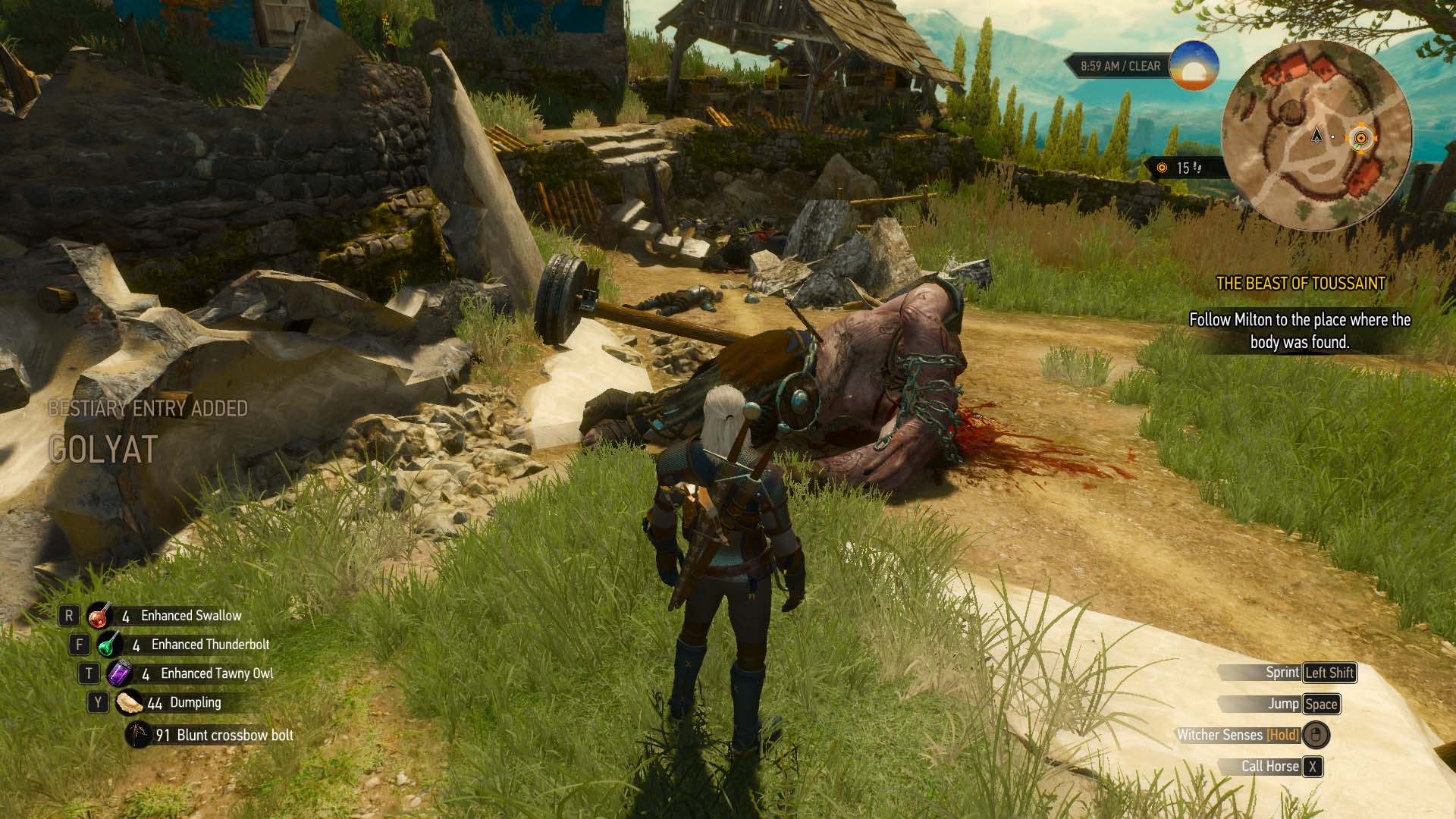 witcher 3 blood and wine endings guide