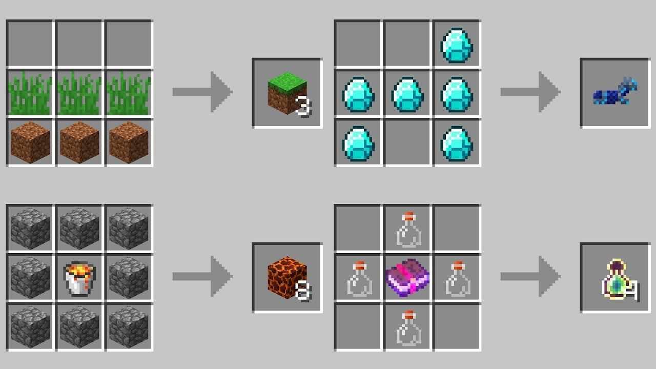 crafting guide minecraft 1.12 1