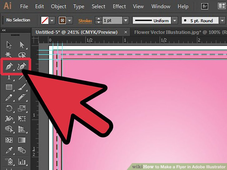 illustrator guides disappear when selected