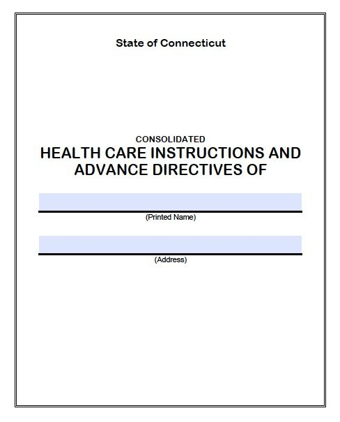 advanced care directive form guide