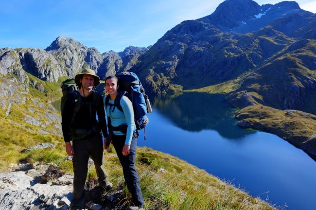 tramping guided walks new zealand