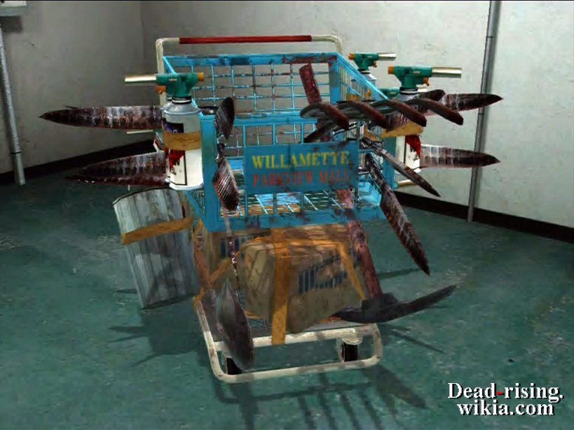 dead rising 2 weapons guide