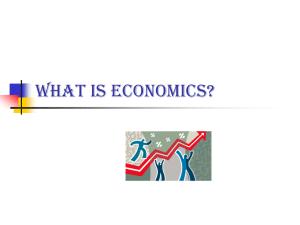 unit 1 introduction to economics study guide