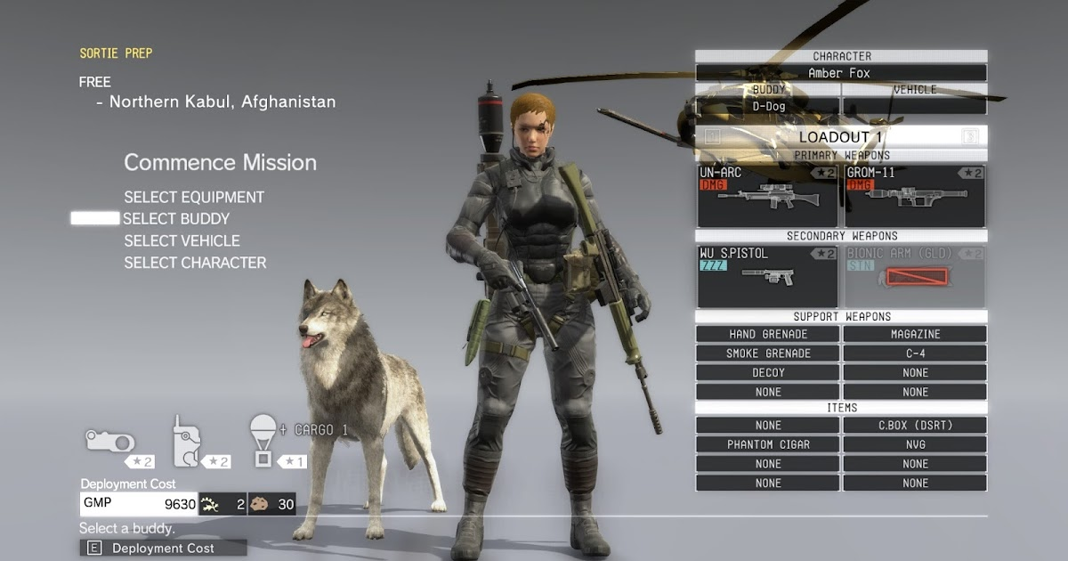 metal gear solid buddy guide