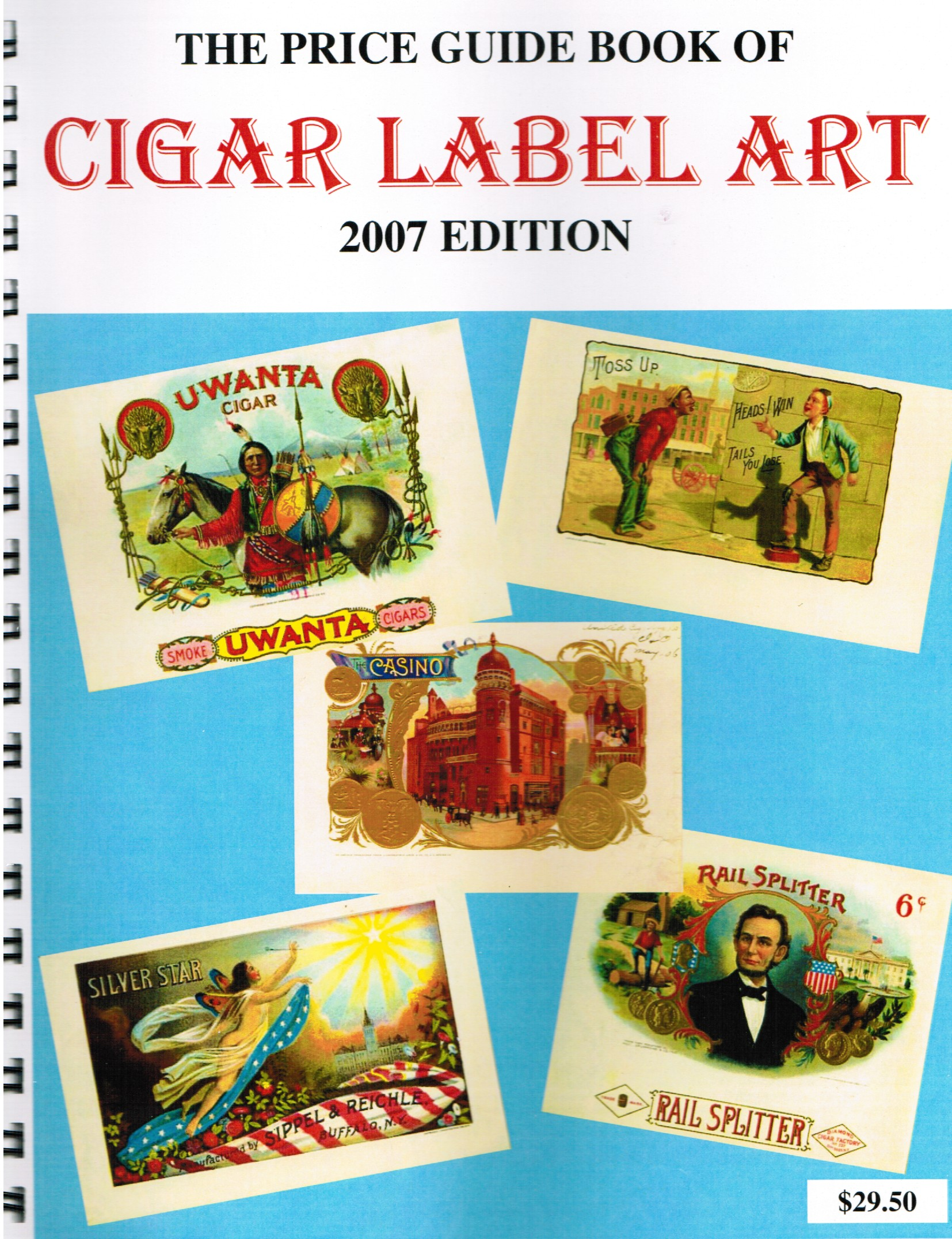 cigar label art price guide