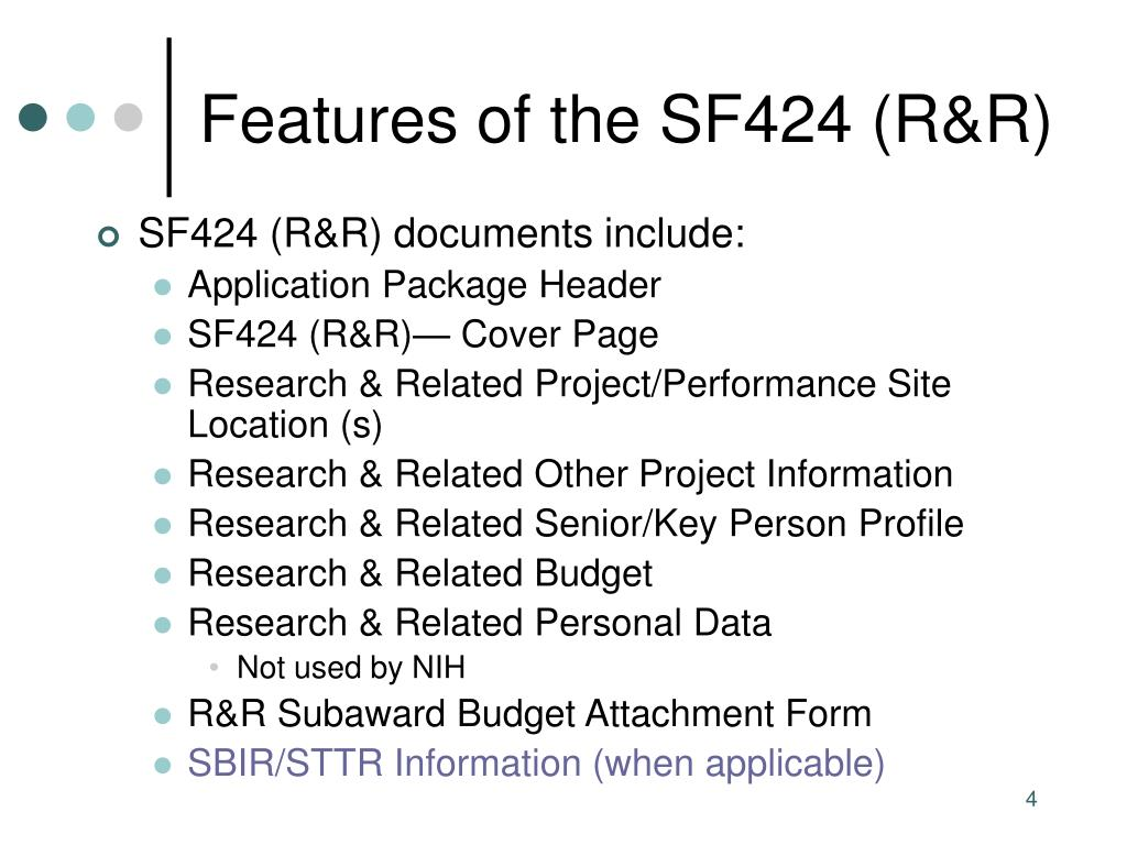 sf424 r&r application guide form e