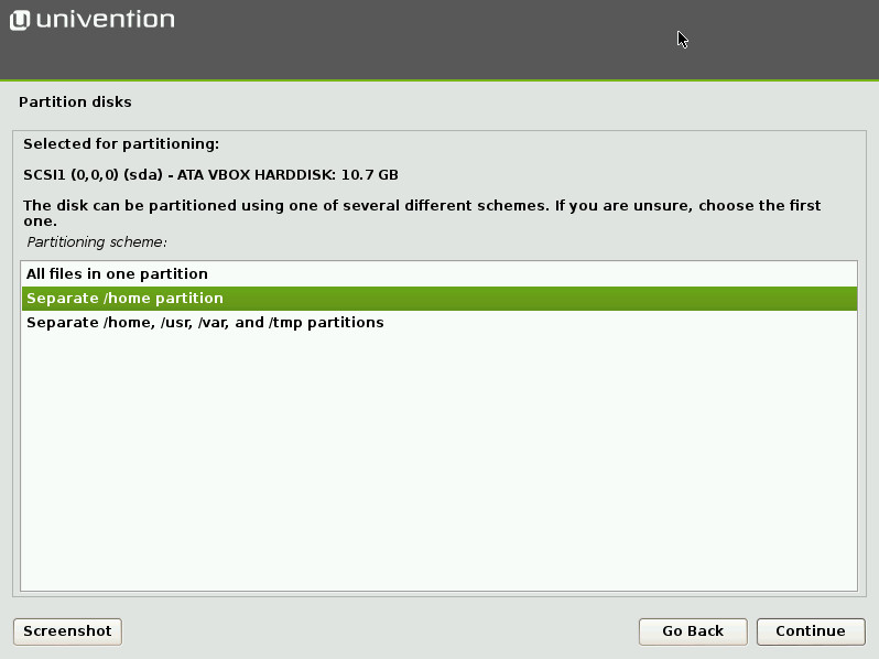 univention corporate server installation guide
