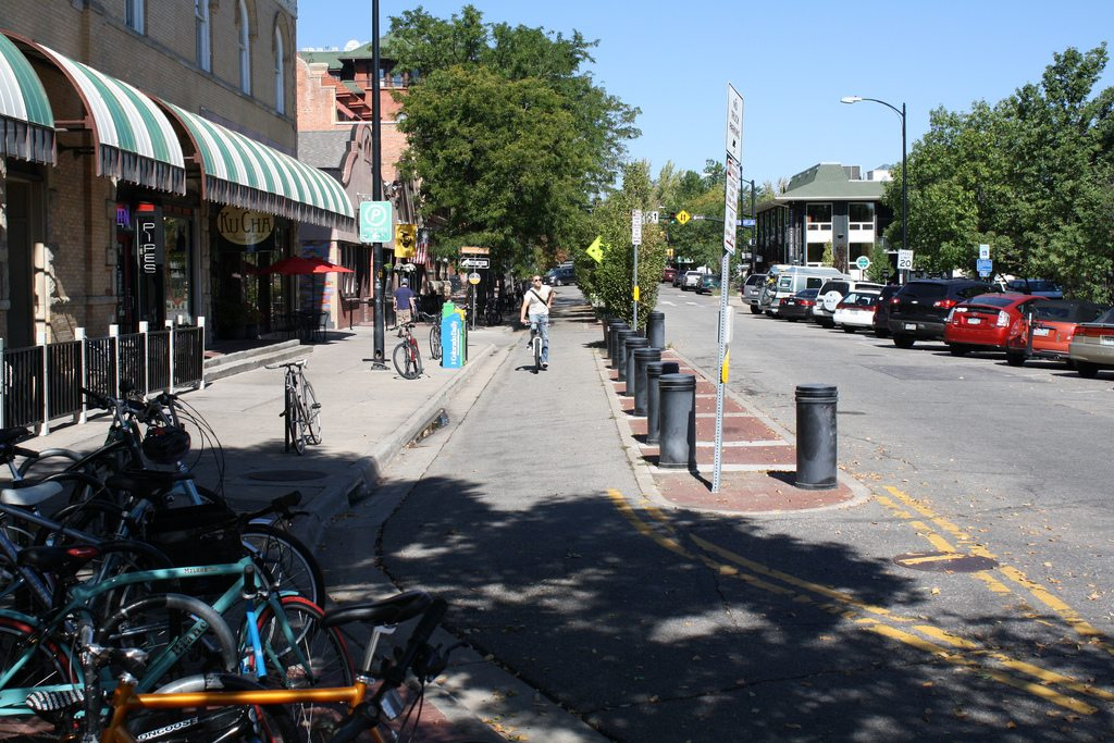 separated bike lanes planning and design guide