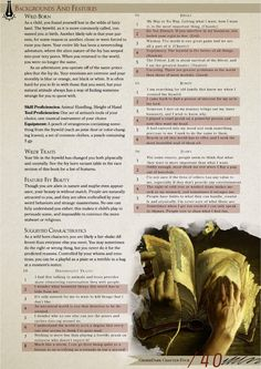 5th edition character creation guide
