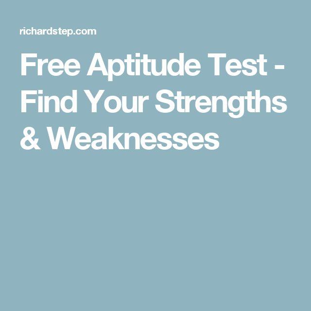 aptitude test good careers guide