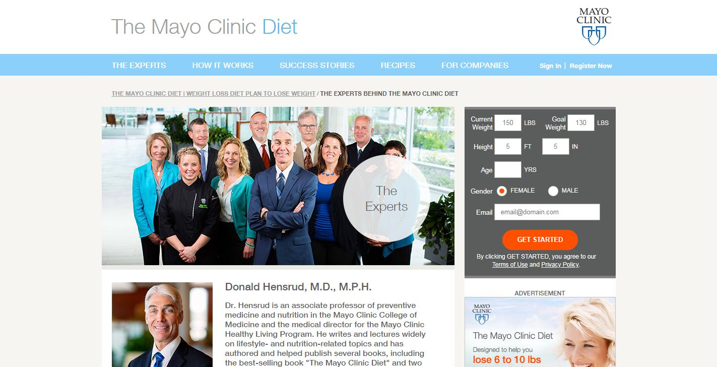 mayo clinic healthy eating guide
