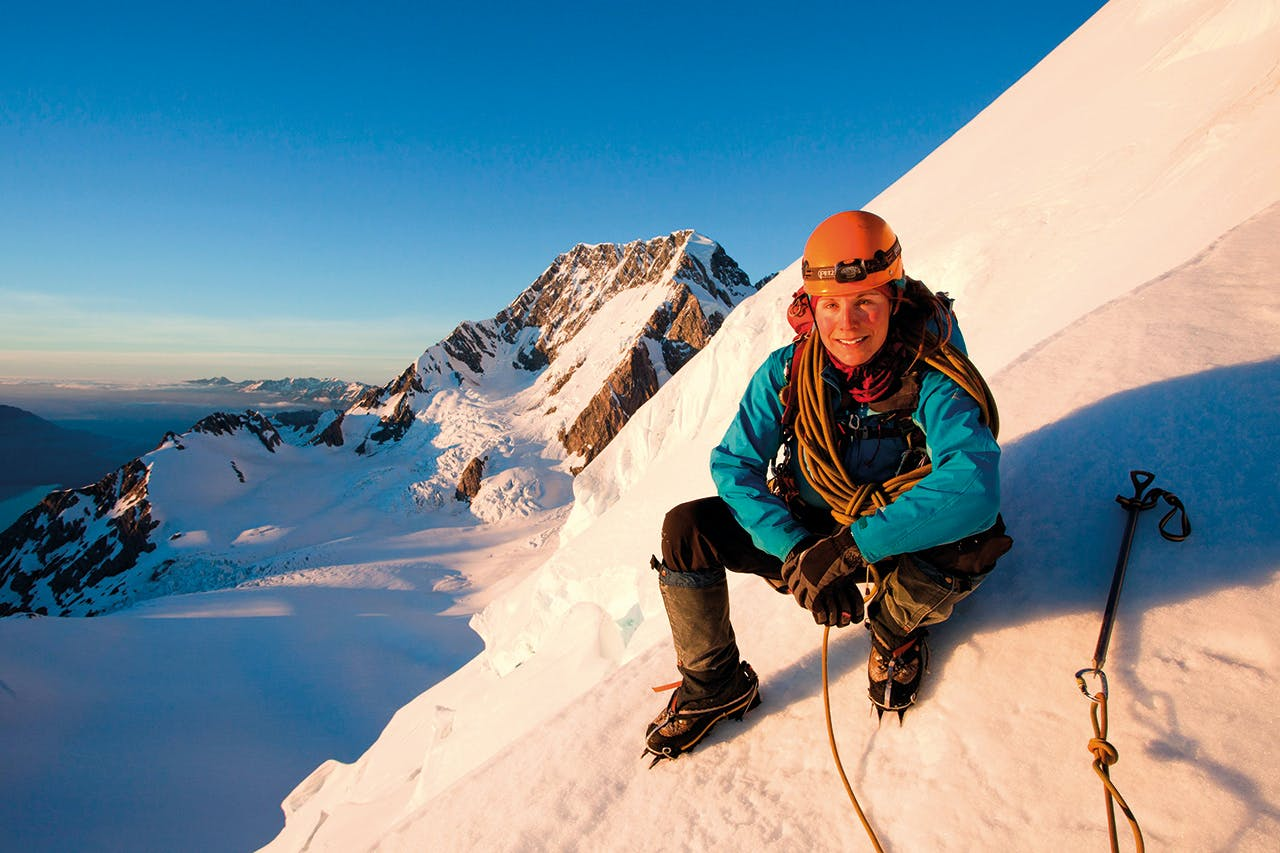 nz mountain guides elke braun