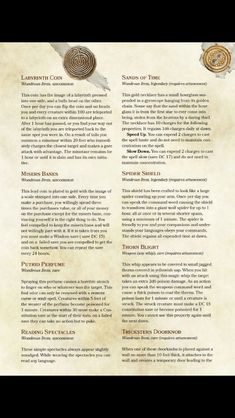 dnd 5e dungeon masters guide magic items