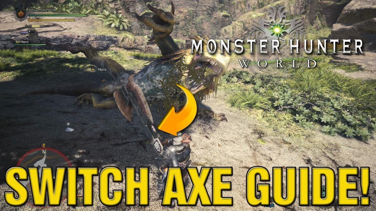 monster hunter aerial switch axe guide