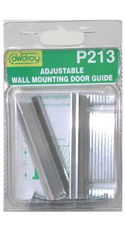 how to attach a sliding door adjustable guide