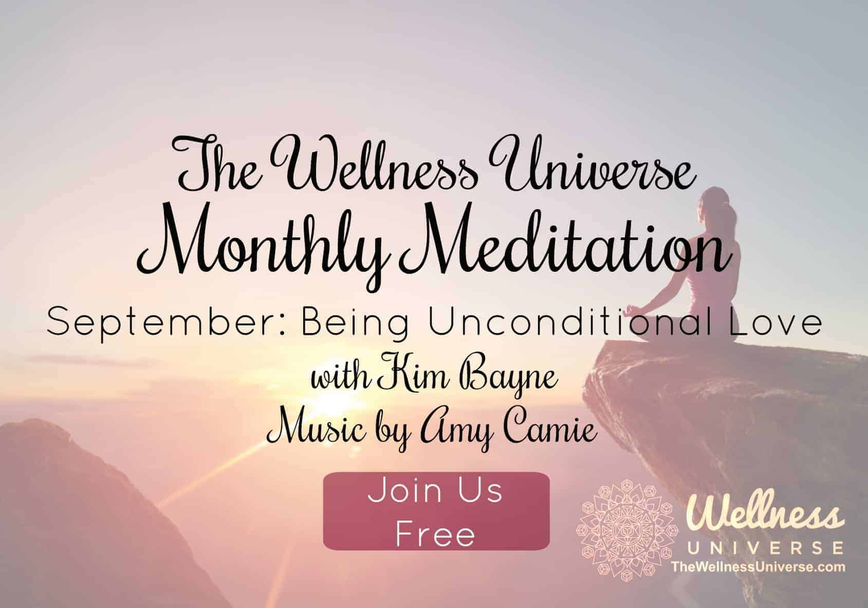 guided meditation being in love