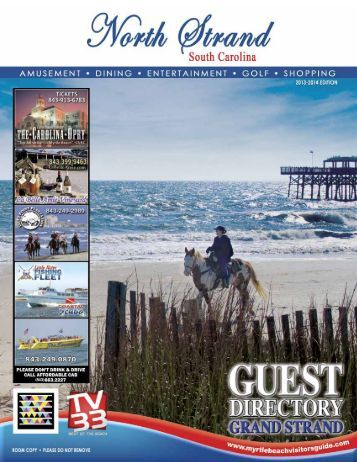 myrtle beach chamber of commerce vacation guide
