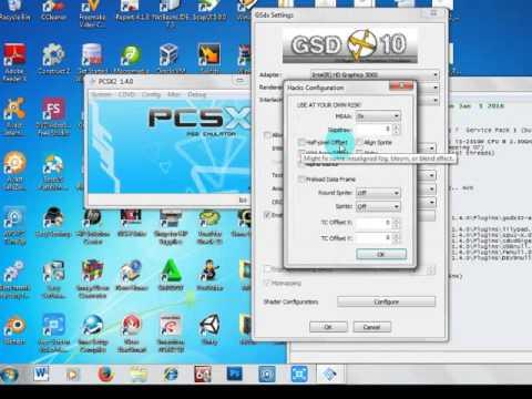 pcsx 1.4.0 setup guide